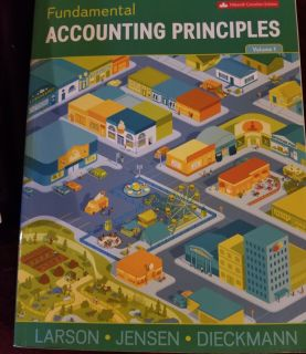 Accounting book for Durham college