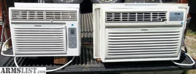 For Sale/Trade: 2 Window Air Conditioners & Frigidaire Refrigerater