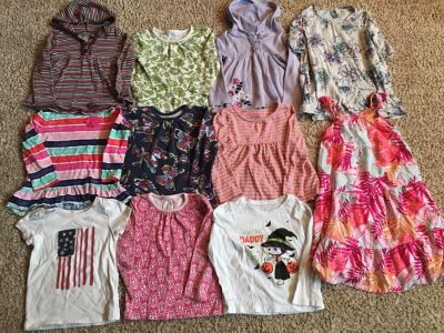 LARGE lot of 3T girls clothes 27 items!!!