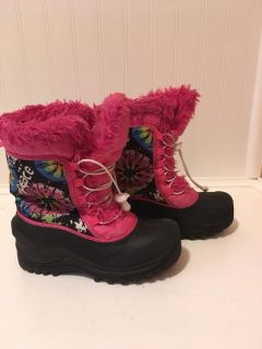 Girls Thinsulate winter boots size 2