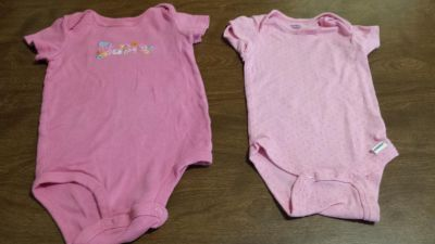 3 to 6 month onesies