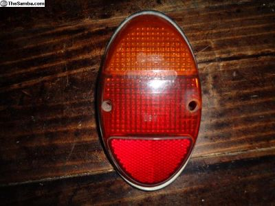 VW Audi Bug 62-67 Tail Light Lens 111945233.1