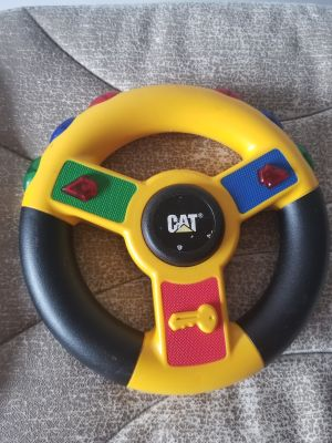CAT steering wheel