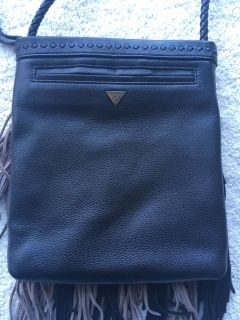 Brand new Sam Edelman -leather and suede fringe crossover purse