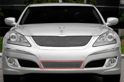 Sell T-Rex 11-13 fits Hyundai Equus Billet Grille Upper Class Polished Mesh Grill motorcycle in Corona, California, US, for US $264.50