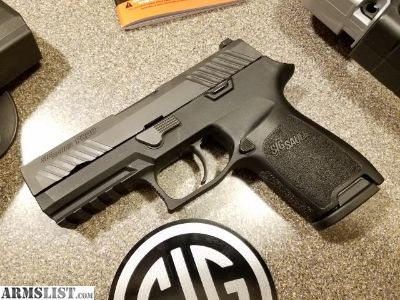 For Sale: Sig P320 Compact (trigger upgraded)