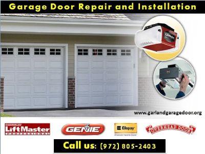 #1 New Garage Door Installation company in Garland, TX