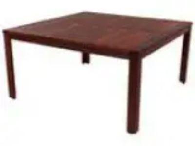URGENT Kwila Hardwood Outdoor Table Setting