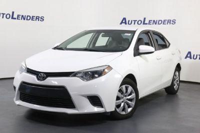 2015 Toyota Corolla L (white)