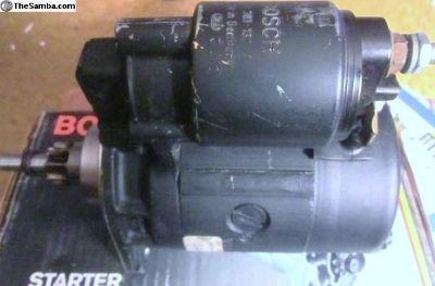 Starter 1981-87 Bosch Remanufactured SR-19X