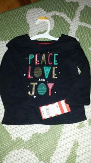 NWT 12M Cat and Jack t-shirt