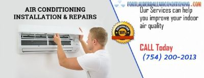 Get Away from Heat from AC Repair Fort Lauderdale