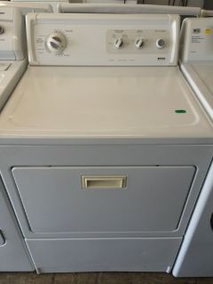 Kenmore Elite Electric Dryer in White