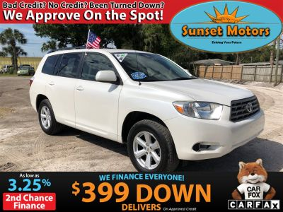 2010 Toyota Highlander Base (White)