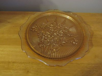Carnival Glass Plate~Reduced