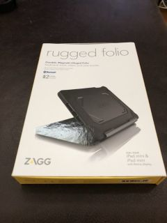 ZAGG Rugged Folio Case w/Backlit Keyboard
