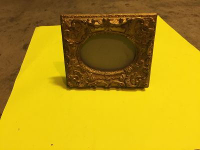Frame 5x7 with Glass Vintage Antique Style Baroque Bronze Old Dark Gold Ornate
