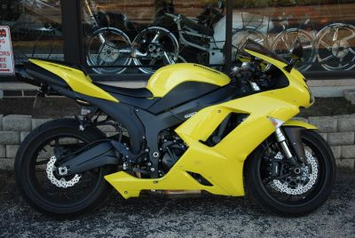 2008 Kawasaki Ninja ZX -6R SuperSport Motorcycles Northlake, IL