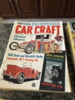 LOWERED PRICE**Vintage Car Craft Magazines