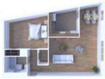 Main Station Apartments - One BR Floor Plan A3