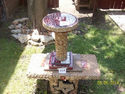 $350, Aggies End Table