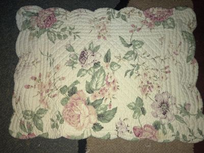 Reversible placemat - used for center of table decor