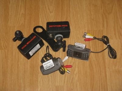 Dash Camera Police Surplus Front & Rear Dash Cam Lot of 4 (2 front 2 rear)