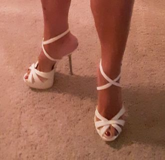 Super Sexy White Shoes, perfect for Summer