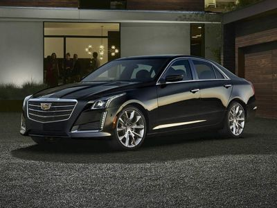 2016 Cadillac CTS 2.0L Turbo Luxury (Crystal White Tricoat)