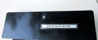 Purchase 68/69/70/? FORD F100/F150/F250/ BLACK GLOVE BOX DOOR PICKUP/ WITH RANGER BADGE motorcycle in Nampa, Idaho, United States, for US $49.99