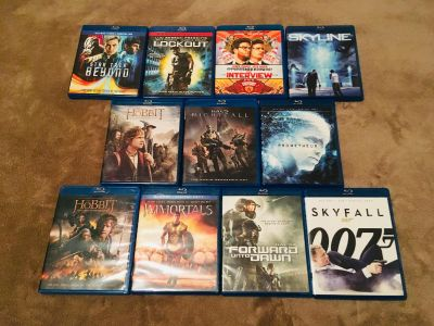 Blu-Rays-Discs in Like New Condition $5 each