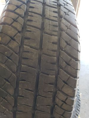 4 Michelin ltx at2 lt275/70r18 10ply