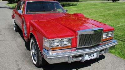 1979 Cadillac Seville 2dr Coupe Auto (Red)