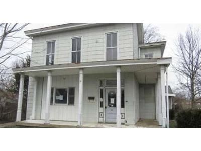 6 Bed 2 Bath Foreclosure Property in Liberty, IN 47353 - W Union St