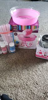 Cotton Candy Maker plus accessories used once