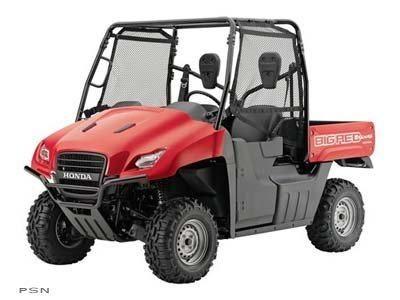 2010 Honda Big Red Side x Side Utility Vehicles Hays, KS