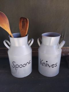 Containers for utensils