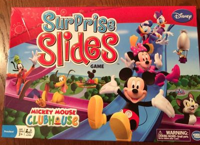 Mickey Mouse Surprise Slides Game played 1-2 times