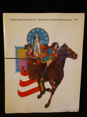 USPS 1975 Mint Commemorative Set of Stamps