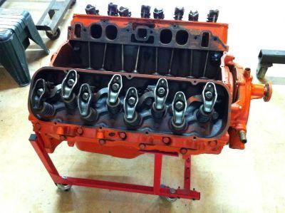 427 Corvette Engine 1969 390 h.p,