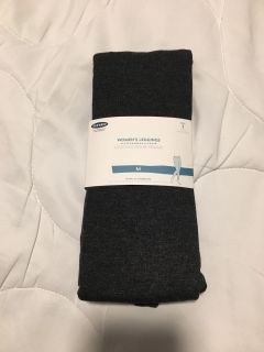Old Navy Leggings. Size Medium (8-10). Charcoal Heather Gray. Brand New With Tags.