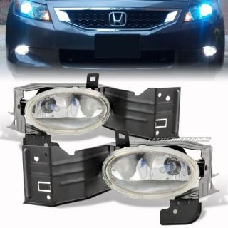 Find JDM Style Clear Lens Fog Light Complete Full Kit For 08-10 Honda Accord Coupe 2D motorcycle in Rowland Heights, California, United States
