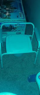 Invacare potty chair