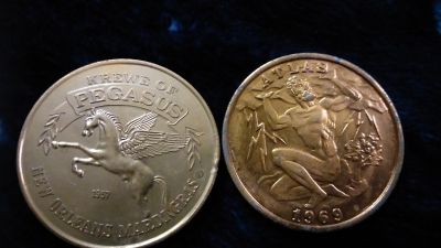 Pegasus and Atlas Doubloon 1957/1969
