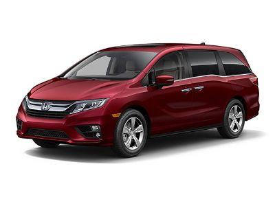 2019 Honda Odyssey EX-L w/Navigation & RES (Deep Scarlet Pearl)