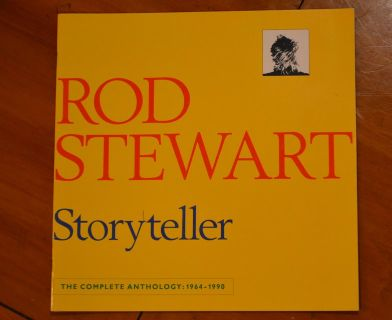Rod Steward Concert Program