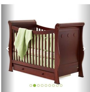 Convertible Baby Bed with Mattress