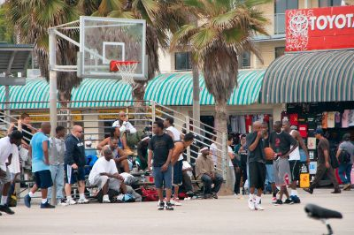 Venice Beach Fast Food Restaurant