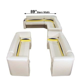 Buy Pontoon Boat Seating Groups/ boat furniture... Complete..MADE IN AMERICA motorcycle in Larwill, Indiana, United States