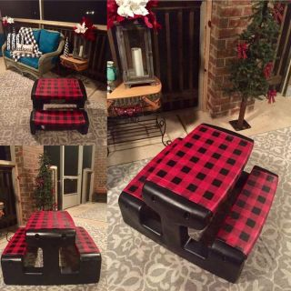 Little Tikes Upcycled Picnic Table